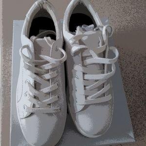 New Ladies Steve Madden Bertie Leather Sneakers